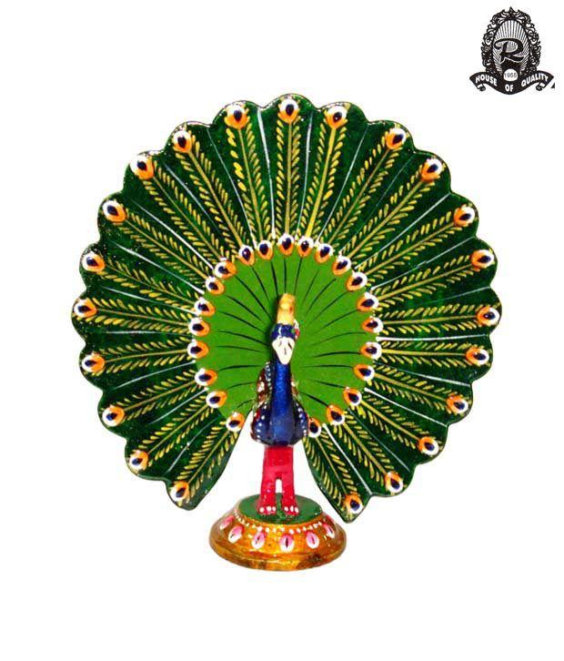 Ratoomal's Dancing Peacock Showpiece
