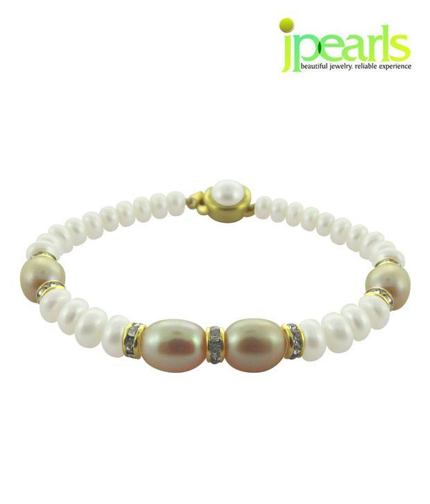Sri Jagdamba Pearls Classy Pearl Bracelet