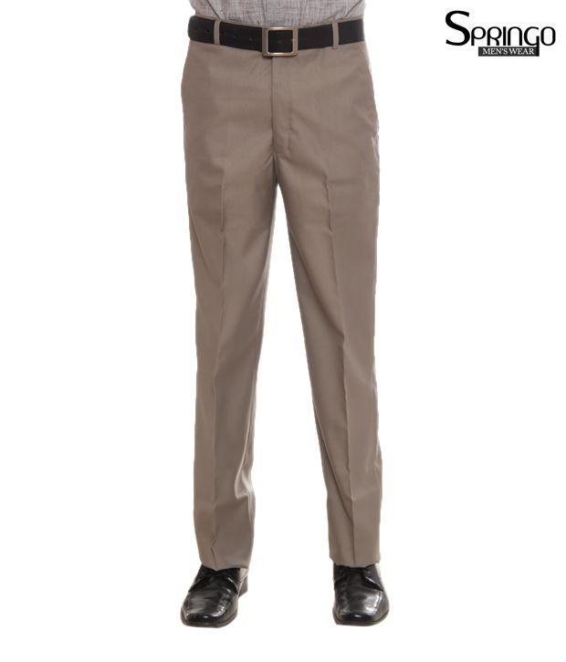 Springo Beige Trousers