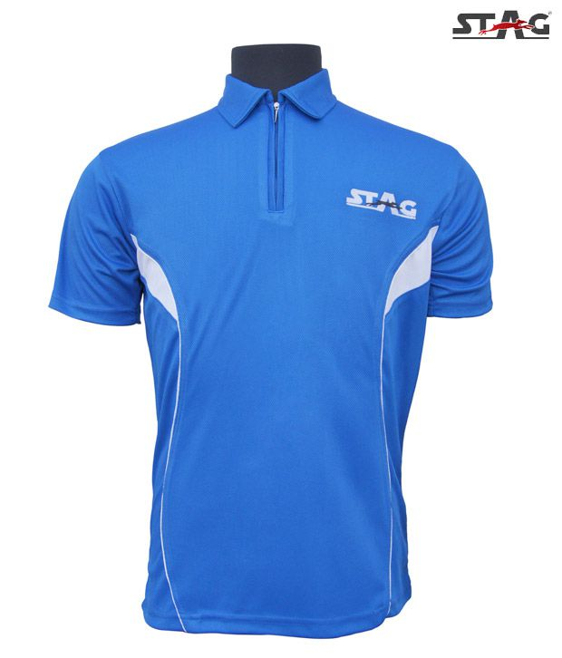 Stag Royal Blue Basic Training T-Shirt