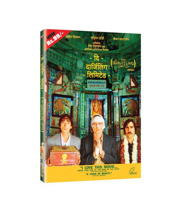 The Darjeeling Limited (English) DVD