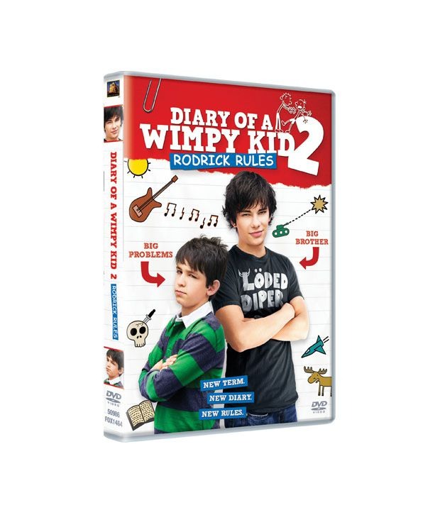 Diary of a Wimpy Kid: Rodrick Rules (English) DVD