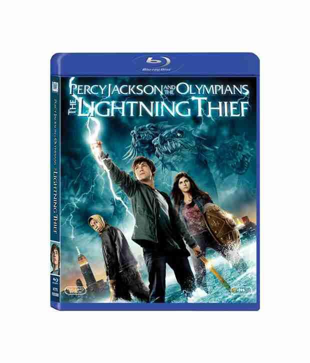 Percy Jackson & the Olympians: The Lightning Thief (English) Blu-ray