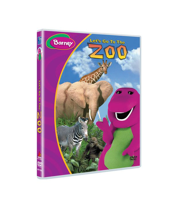 Barney: Let's Go To The Zoo (English) [DVD]: Buy Online At