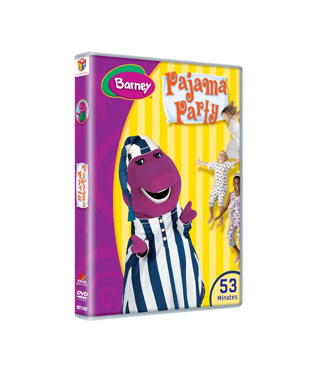 Barney: Pajama Party (English) [DVD]: Buy Online At Best