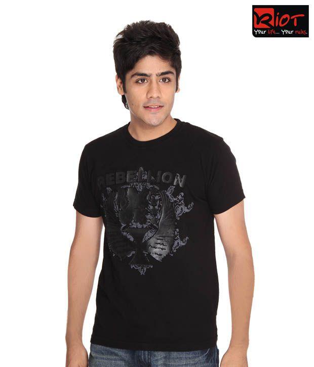 Riot Boisterous Black T-Shirt