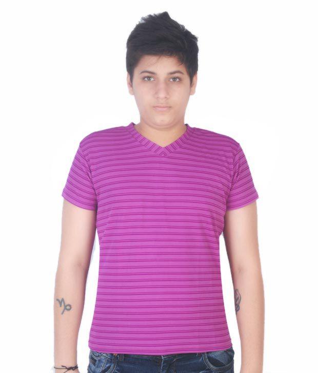Fitz Smart Fuchsia Pink T-Shirt