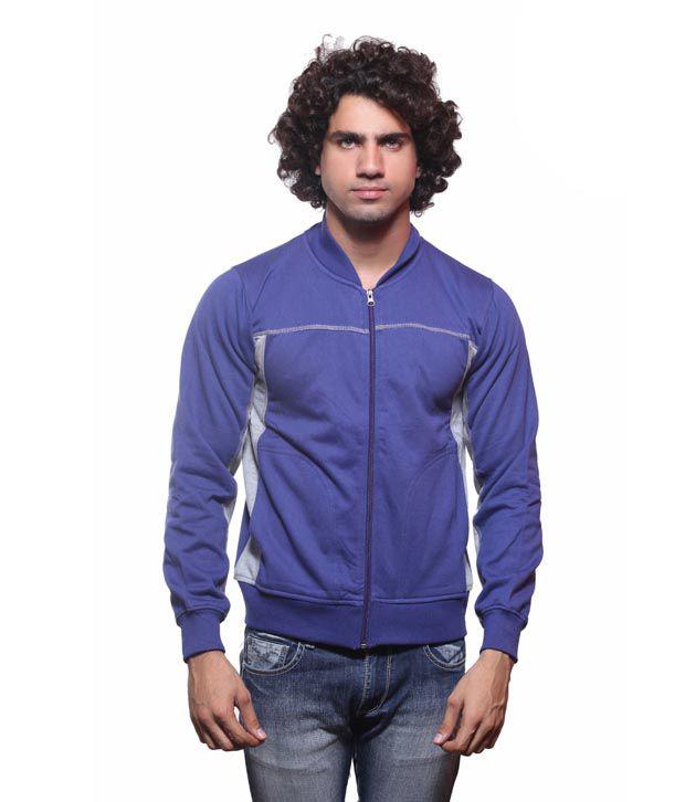 Fort Collins  Royal Blue Men Sweatshirt
