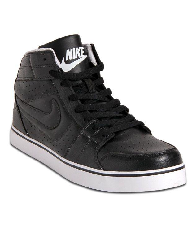 nike black high ankle shoes Shop
