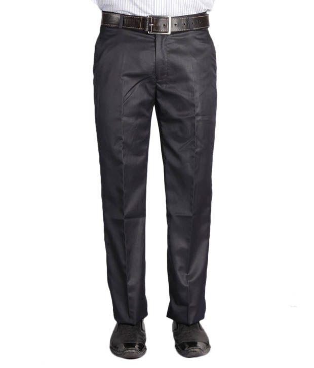Jogur Rich Black Slim Fit  Trouser