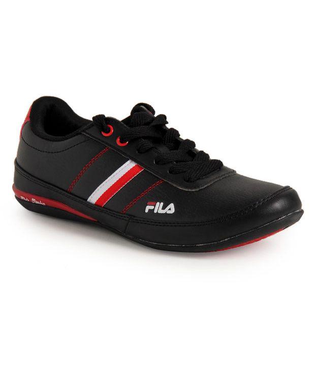 fila stradd black sports shoes price in india buy fila