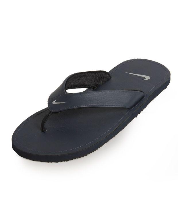 the latest c661e 5384b Nike Chroma Thong II Navy Blue Slippers