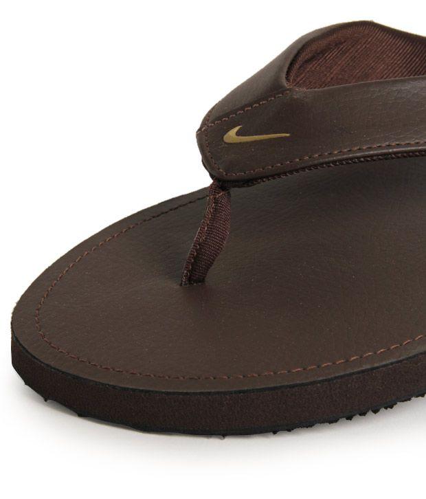 reputable site c0f6f ec628 Nike Chroma Thong II Chocolate Brown Slippers