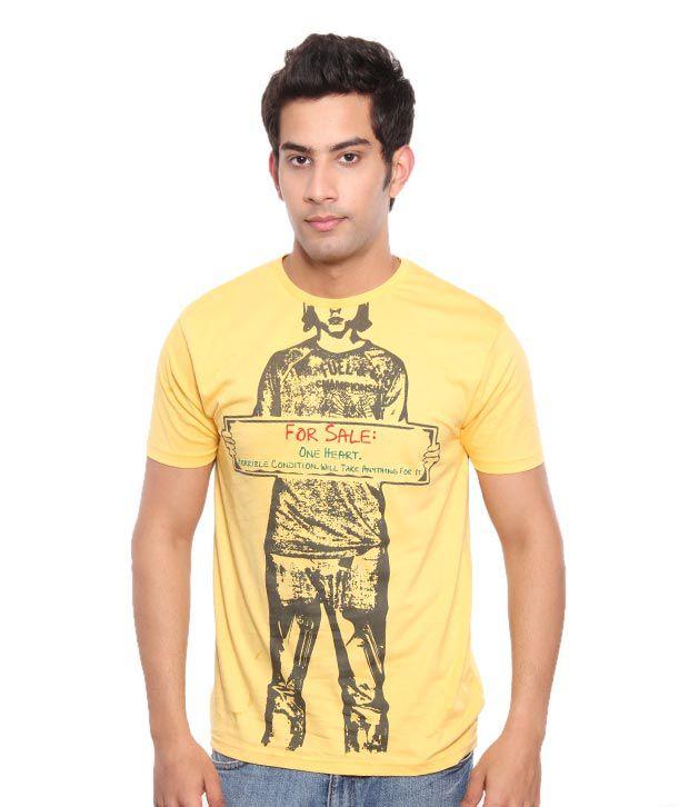 Free Spirit Yellow For Sale Men's T-Shirt