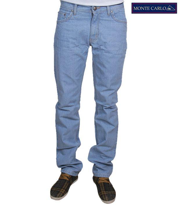Monte Carlo Light Blue Men's Jeans