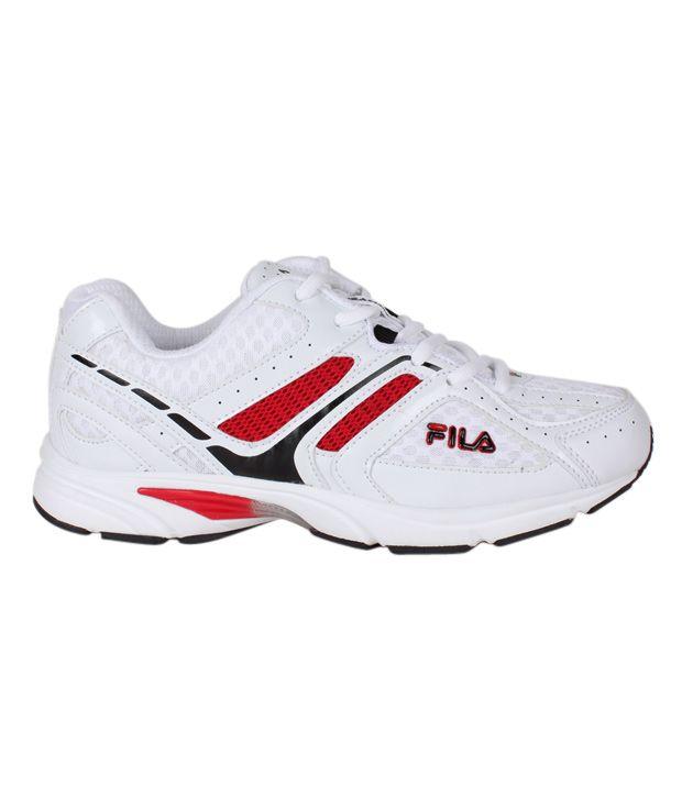 0b201a6ec Fila Champion White Running Shoes - Buy Fila Champion White Running ...