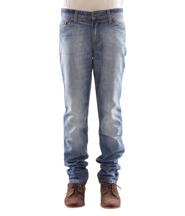 Zaab Blue Men's Jeans