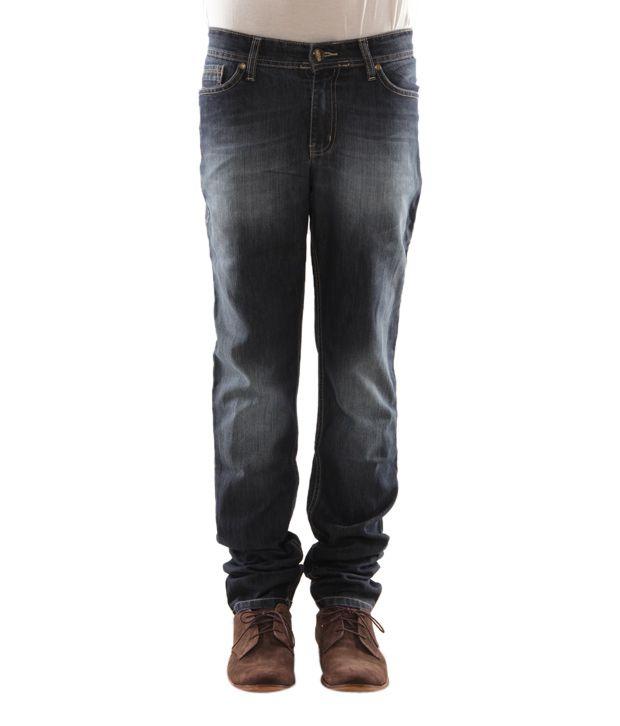 Zaab Stylish Blue Men's Jeans