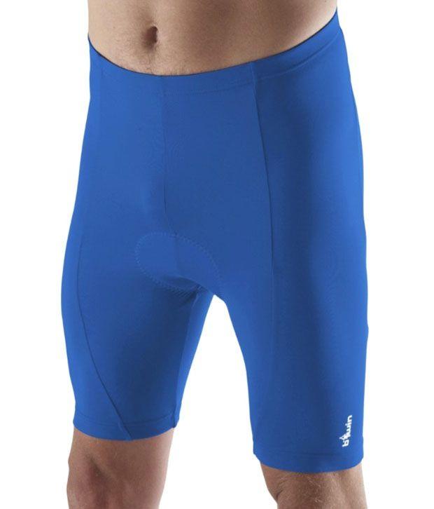 Btwin 3 Road Blue Cycling Shorts 8127213