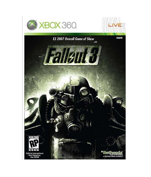 Fallout 3 Instruction Manual xbox 360