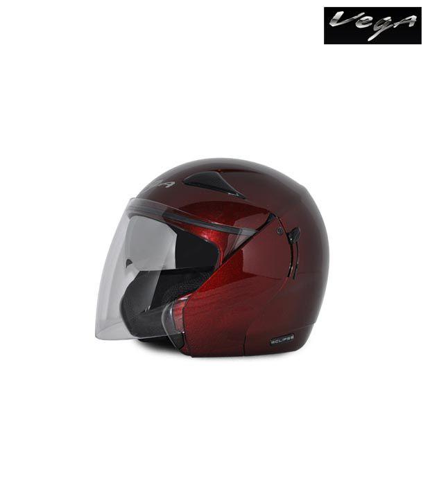Vega Helmet - Eclipse (Burgundy)