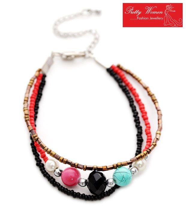 Pretty Woman Multi Coloured Jazzy Bracelet