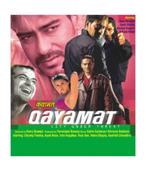 Qayamat Ajay Devgan Hindi Dvd Buy Online At Best Price In