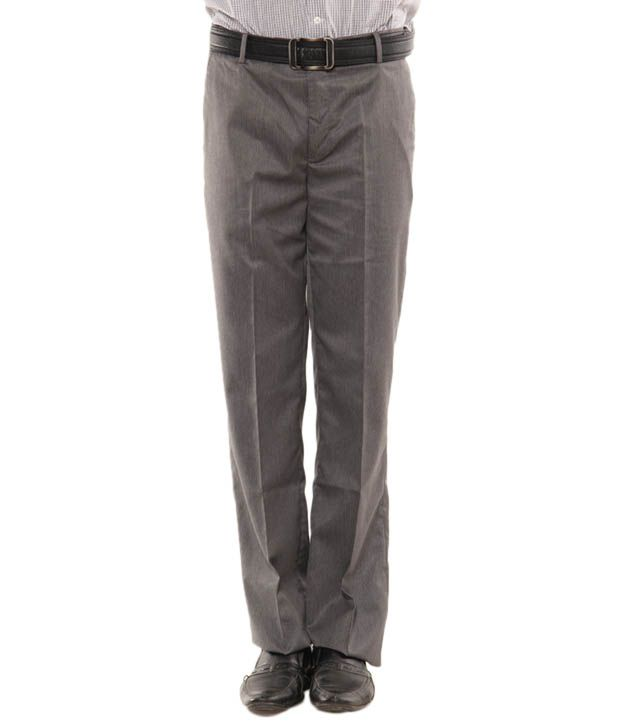 John Players Grey Trouser