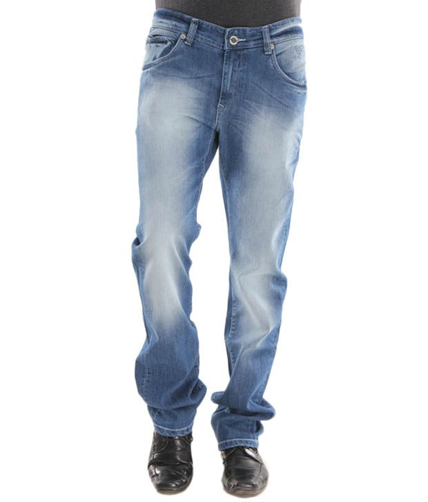 Lemax Blue Men's Slim Fit Jeans