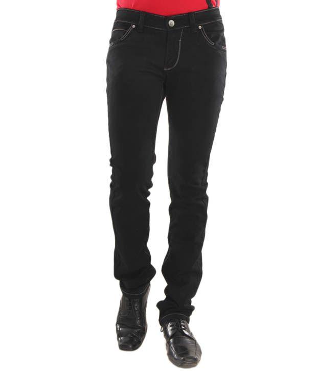 Lemax Classy Black Men's Jeans