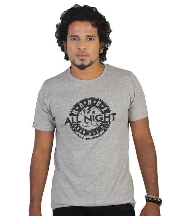Tekki Grey Dance All Night T-Shirt