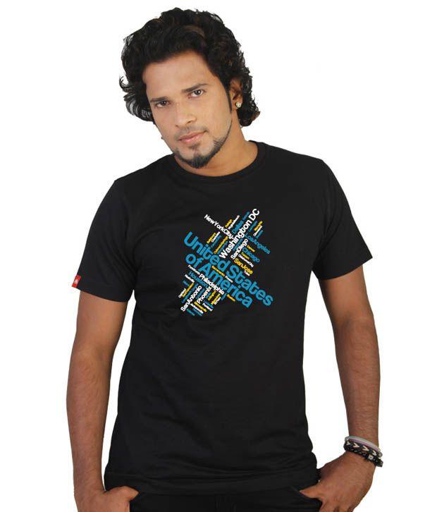 Tekki Classic Black United States T-Shirt