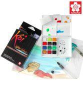 Sakura Koi Pocket Field Sketch Box - 12 Colors