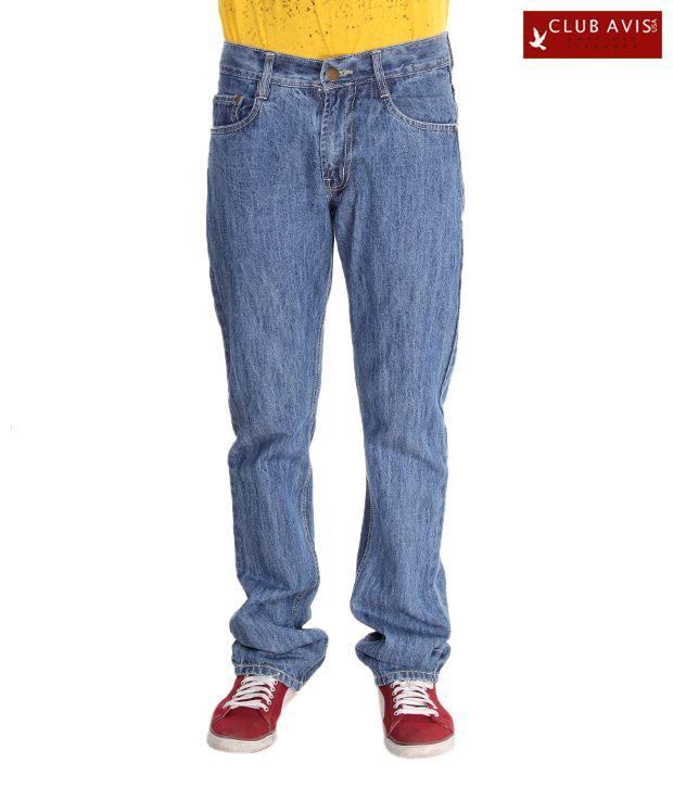 Club Avis USA Cool Light Blue Slim Fit Jeans