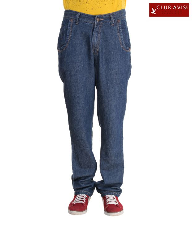 Club Avis USA Smart Blue Slim Fit Jeans