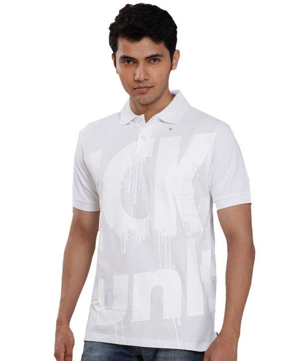 Ecko Retro White T-Shirt