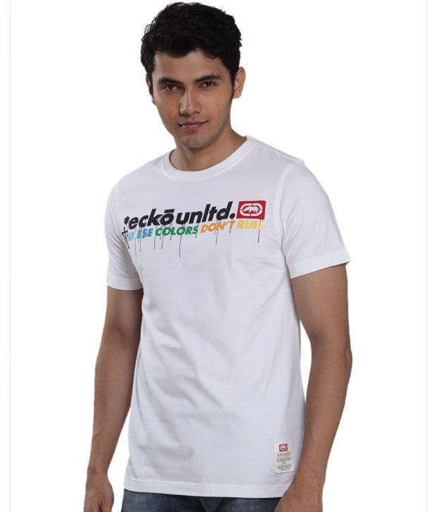 Ecko Vibrant White T-Shirt