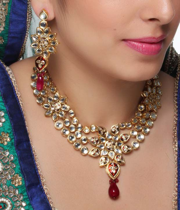 Diva Art Alluring Kundan Bridal Set