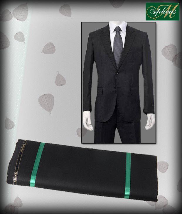 Morpheus Smart Black Suit Length