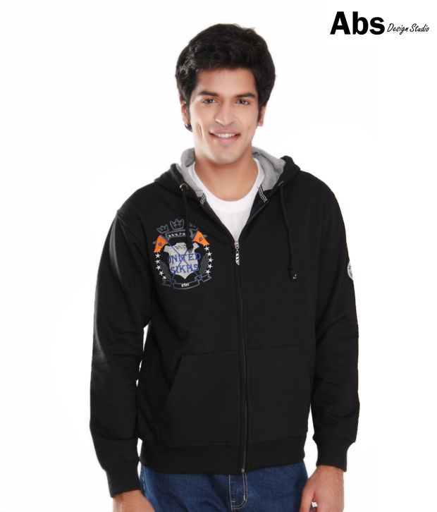 Punjabi Heritage Black Hoodie Sweatshirt