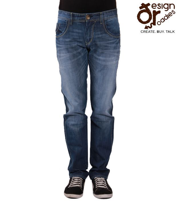 Design Roadies Cool Dark Blue Jeans