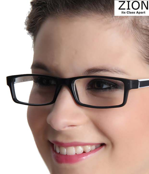 Zion Luxuriant White & Black Optical Frame