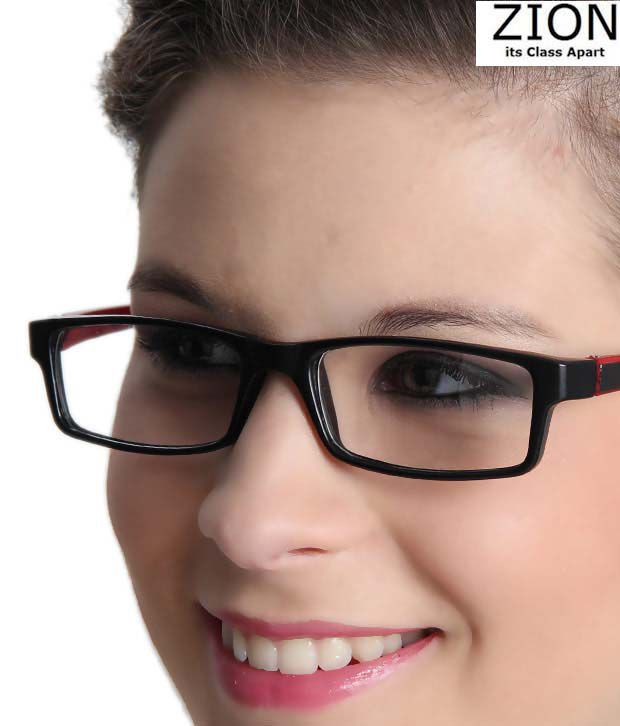 Zion Alluring Red & Black Optical Frame