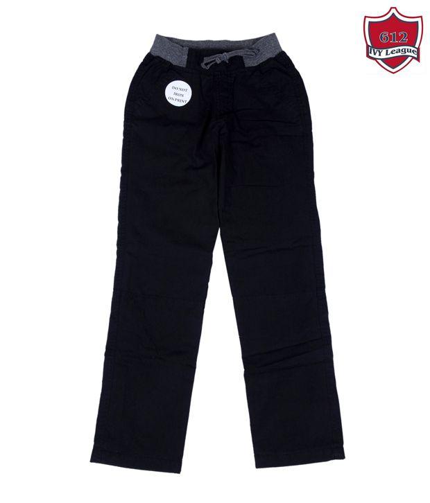 612Ivyleague Smart Navy Blue Trouser