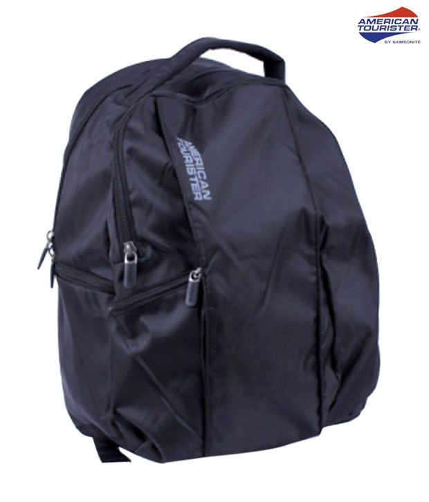 American Tourister Cool Black Citi Pro 1 Laptop Backpack