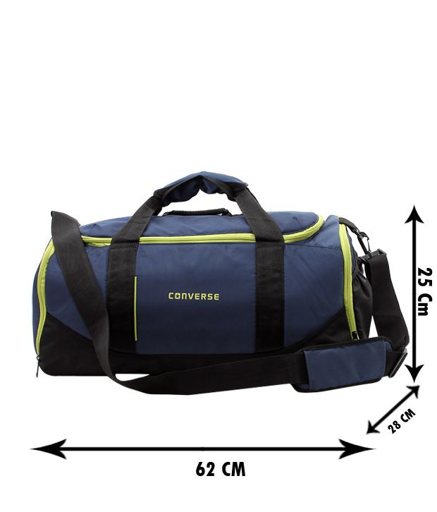 Converse Swanky Blue & Green Duffle Bag