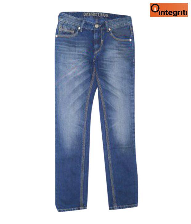 Integriti Stylish Blue Men's Jeans