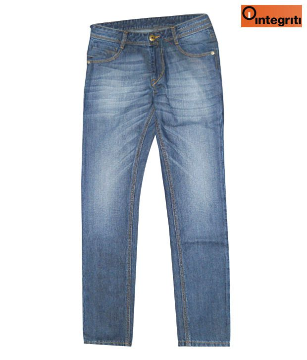 Integriti Smart Navy Blue Men's Jeans