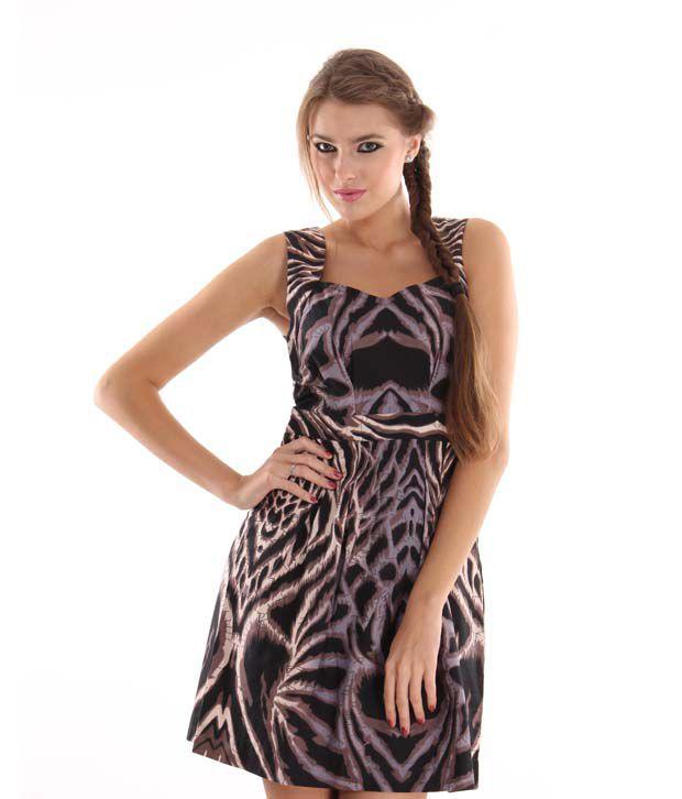 Latin Quarters Suave Brown Dress