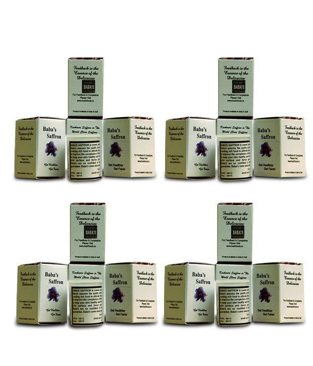 Baba Saffron 4 g (Pack of 4)